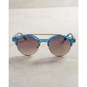 Anthro Loiret Clubround Sunglasses Brow Bar Mirror
